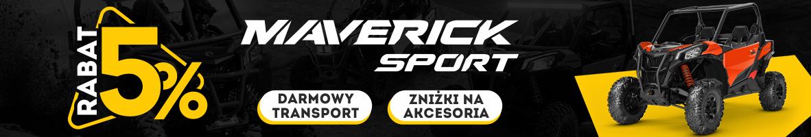 Maverick Sport Promocja banner sklep